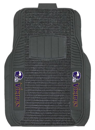 FANMATS Minnesota Vikings Deluxe Car Mat Set