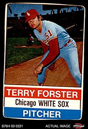 Amazoncom 1976 Hostess 14 Terry Forster Chicago White