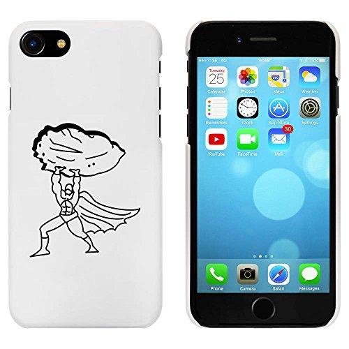 Weiß 'Superheld Hebt Felsen' Hülle für iPhone 7 (MC00055932)