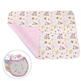 5 in 1 Crib with Changing Table Diaper Changing Pad (27.5