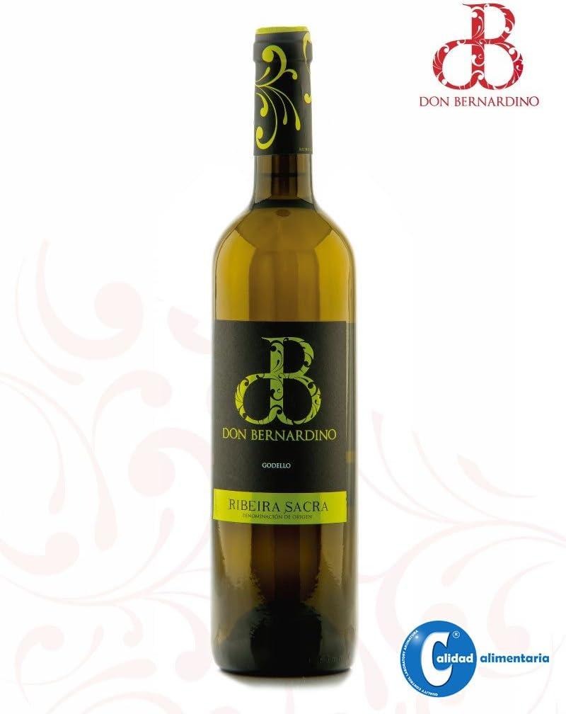 Vino Blanco Albariño Godello Treixadura Don Bernardino D.O. Ribeira Sacra 75cl (Estuche 3 botellas): Amazon.es: Alimentación y bebidas