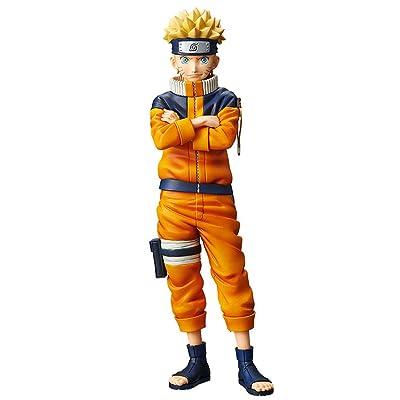 Banpresto 38915/ 10172 Naruto Grandista Shinobi Relations Uzumaki Naruto #2 Figure: Toys & Games