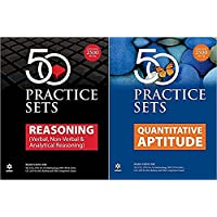 50 Practice Sets Quantitative Aptitude & Reasoning Set of 2 Books