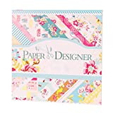 """FaCraft Scrapbook Paper Collection Paper Pad,Sweet Life,40 Sheets 8x8"""" Decorated Paper Pad For Creative Scrapbooking and Cards"""