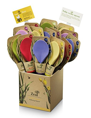 Zeal L213disp Kitchen Innovations Reflecting Nature Tulip Cooks Spoon (Pack Of 15)
