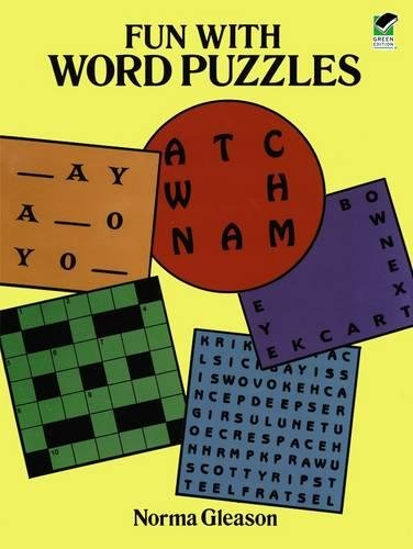 Fun with Word Puzzles (Dover Children's Activity Books)