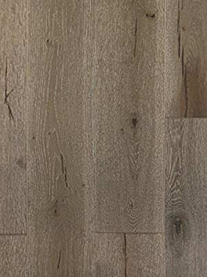 Seven Sisters White Oak Wood Flooring | Durable, Strong Wear Layer | Engineered Hardwood | Floor SAMPLE by GoHaus