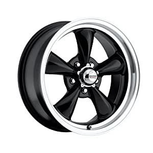 17 inch 17x7 17x9 100 b classic series black aluminum wheels 1973 Chevy Lifted automotive tires wheels