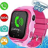 Kids Smart Watch Phone for Girls Boys, Waterproof IP67 GPS...