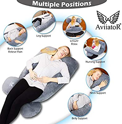 Pregnancy Pillow For Side Sleeping