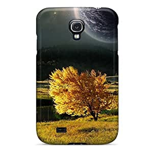 NKn7651lQCz ChrismaWhilten Nature And Space Durable Galaxy S4 Cases