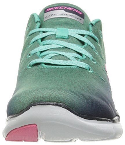 Skechers 0 Appeal Scarpe Ginnastica High Energy 2 Donna Aqua Navy Flex da r5Bqwtr