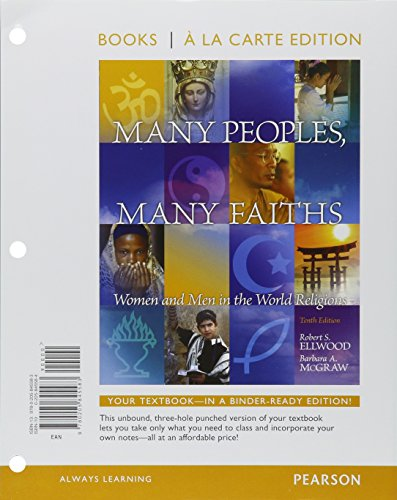 Many Peoples, Many Faiths, Books a la Carte Plus NEW MyReligionLab with eText -- Access Card Package (10th Edition)