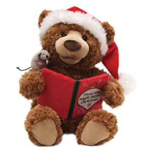 Amazon.com: Gund Storytime Bear Animated Stuffed Animal