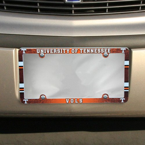 (NCAA License Plate with Full Color Frame, University of Tennessee)