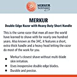 Merkur Slant Bar Double Edge Safety Razor, MK-37001
