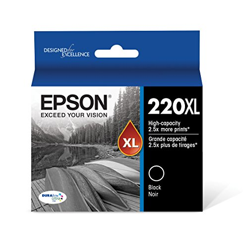 (Epson T220XL120-S DURA Ultra Black High Capacity Cartridge Ink)