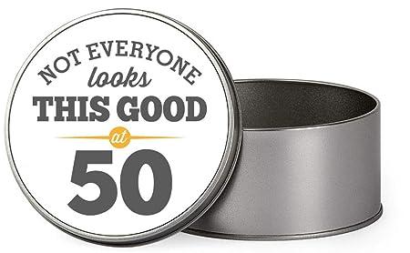 gracioso regalo, novedad caja de regalo de recuerdo de 50º ...