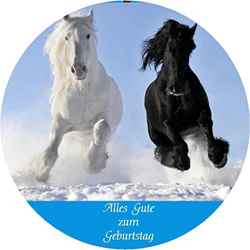 Tortenaufleger Pferde 032