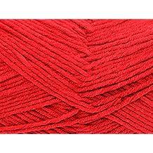 Sirdar Cotton Rich Knitting Yarn Aran 005 Strawbs - per 100 gram ball