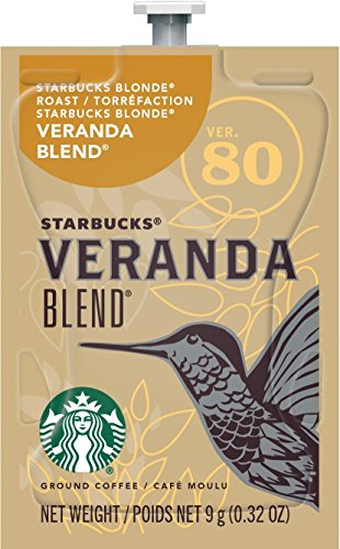 MARS DRINKS Starbucks Freshpack Coffee, Veranda Blend, 0.32 Oz, Pack Of 20