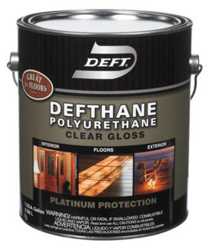 Deft 02101 Deftthane Gloss Varnish, Interior/exterior, 1 Gallon (Pack of 2) by Deft
