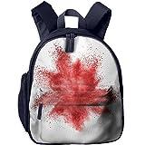 ART Printed Kids School Backpack Cool Children Bookbag