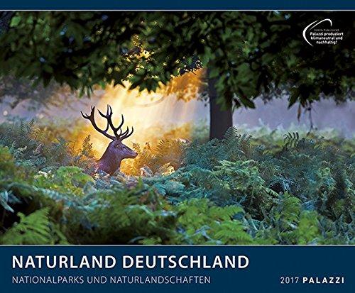 NATURLAND DEUTSCHLAND 2017: Nationalparks und Naturlandschaften - Bayern, Hessen, Elbsandsteingebirge, Neuschwanstein, Landschafts-Kalender 60 x 50 cm