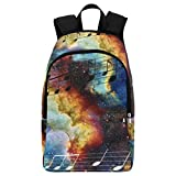 Best Packs For Galaxy Notes - InterestPrint Music Note Galaxy Space Casual Backpack College Review