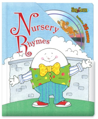 Nursery Rhymes Sing & Learn Padded Board Book With CD by Brand: Brighter Child