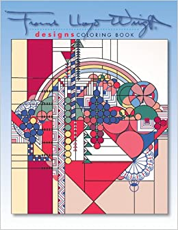 Designs by frank lloyd wright coloring book frank lloyd for Frank lloyd wright coloring pages