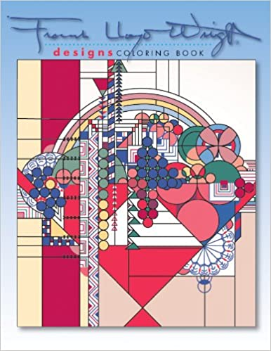 Designs By Frank Lloyd Wright Coloring Book Frank Lloyd Wright