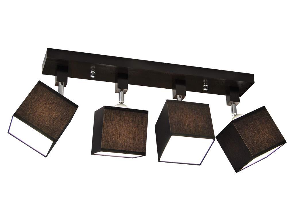Plafoniera Tetto Spiovente : Plafoniera illuminazione a soffitto in legno massiccio lls dpr