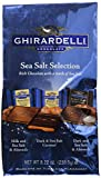 Ghirardelli Sea Salt Assorted Large Squares Bag, 8.22 Ounce