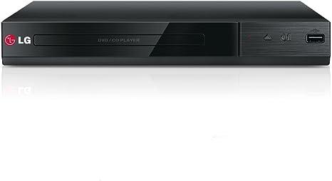 LG DP132 - Reproductor de DVD con entrada USB y RCA (formatos AVCHD, DIVX, DIVX HD, MPEG2, MPEGA), color negro: Amazon.es: Electrónica