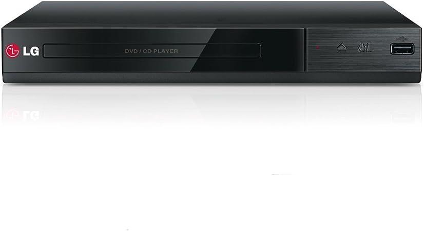 LG DP132 - Reproductor de DVD con entrada USB y RCA (formatos ...