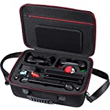 Zadii Hard Carrying Case Compatible with Pokeball Plus and Nintendo Switch System, Travel Case fit Poke Ball Plus and Pro Controller