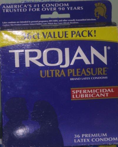 Condoms Trojan Plaisir Ultra avec
