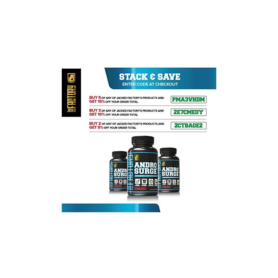 ANDROSURGE Estrogen Blocker for Men Natural Anti Estrogen, Testosterone Booster & Aromatase Inhibitor Supplement Boost Muscle Growth & Fat Loss DIM & 6 More Powerful Ingredients, 60 Veggie Pills