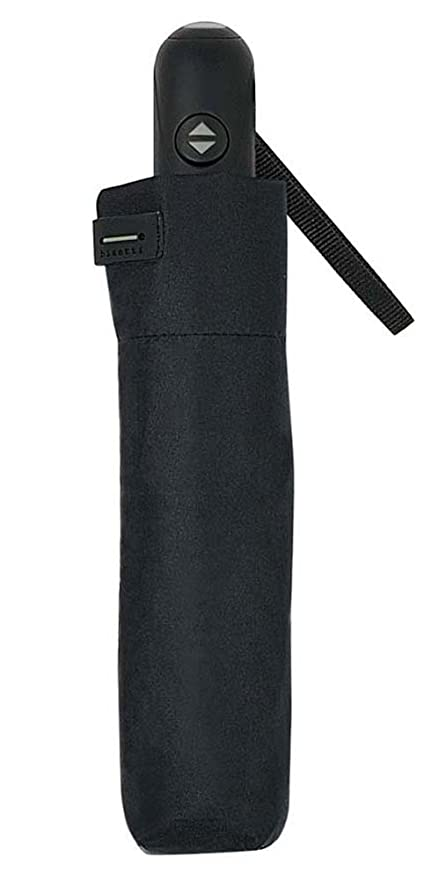 Paraguas plegable de hombre Bisetti 3271 - Negro/gris