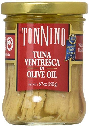 (Tonnino Ventresca Tuna in Olive Oil 6.7 oz. Jars Pack of 6)