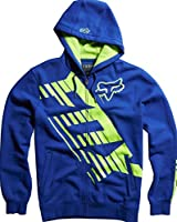 Fox Racing Mens Savant LE Fleece Hoody Zip Sweatshirt