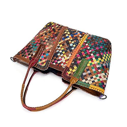 Woman Bag Shoulder Sheepskin Woven Lady Handbag Hongge Leather Fashion B Bag 5znpApOq