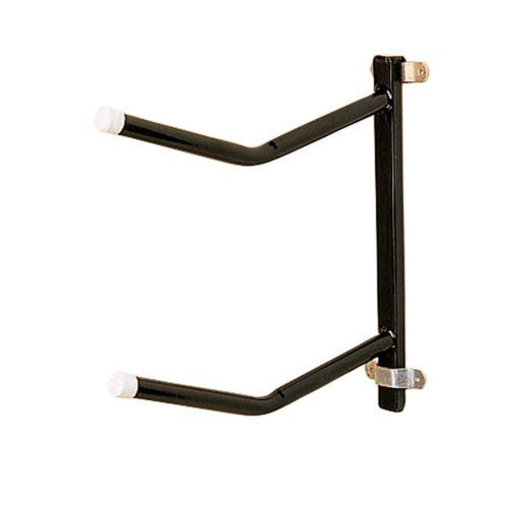 Stubbs Removable Clip-On Twin Saddle Rack (One Size) (Black) by Stubbs