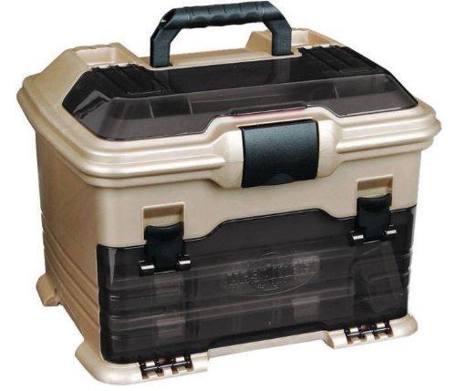 Flambeau Tackle (Flambeau Tackle T4 Multi-Loader Tackle Box (Gold/Black,)