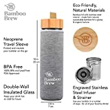 Bamboo Brew Bamboo Travel Tumbler with Infuser