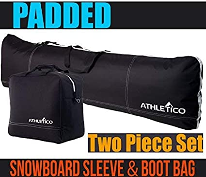 Amazon.com   Athletico Padded Two-Piece Snowboard and Boot Bag Combo ... e97a54765b2e0