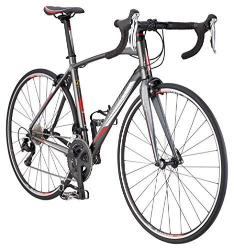 Schwinn Fastback 1 Performance Road Bike for Intermediate to Advanced Riders, Featuring 57cm/Extra Large Aluminum Frame, Carbon Fiber Fork, Shimano 105 22-Speed Drivetrain, and 700c Wheels, Grey