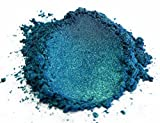 Eye Candy Pearls 50gr Macaw Green Blue Mica Powder Pigments (Resin, Paint, Epoxy, Soaps, Nail Polish, Liquid Wraps)