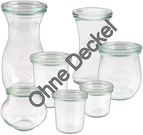 mit /Öffnung RR 100 1//2 Liter 6x WECK-Sturzglas 580ml